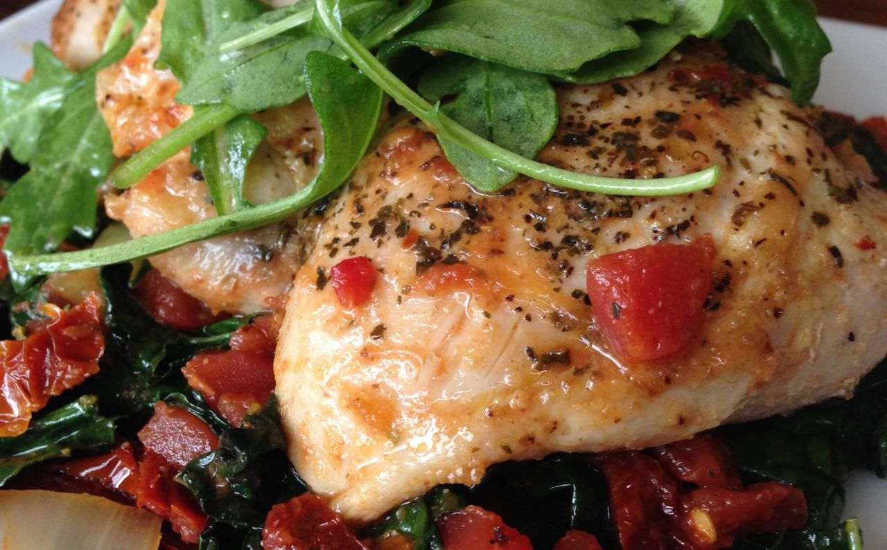 Quick Italian Chicken with Sun Dried Tomatoes