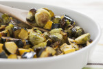 Sage Roasted Acorn Squash & Brussels Sprouts