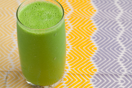 Banana Green Protein Smoothie
