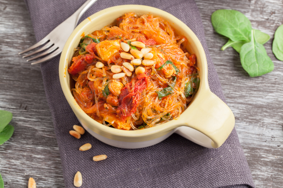 Spinach and Sun Dried Tomato Pasta with Chicken - Laughter and ...