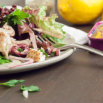Tuscan Salad with Tuna Steak