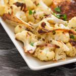 Caramelized Cauliflower with Lemon & Parsley