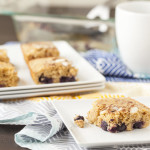 Lemon Blueberry Coffee Cake Bars
