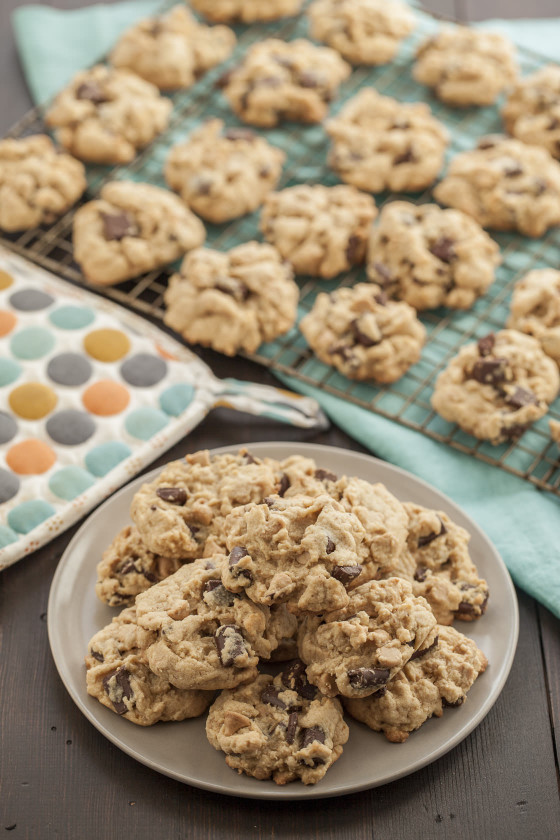Peanut Butter Chip & Chocolate Chunk Cookies