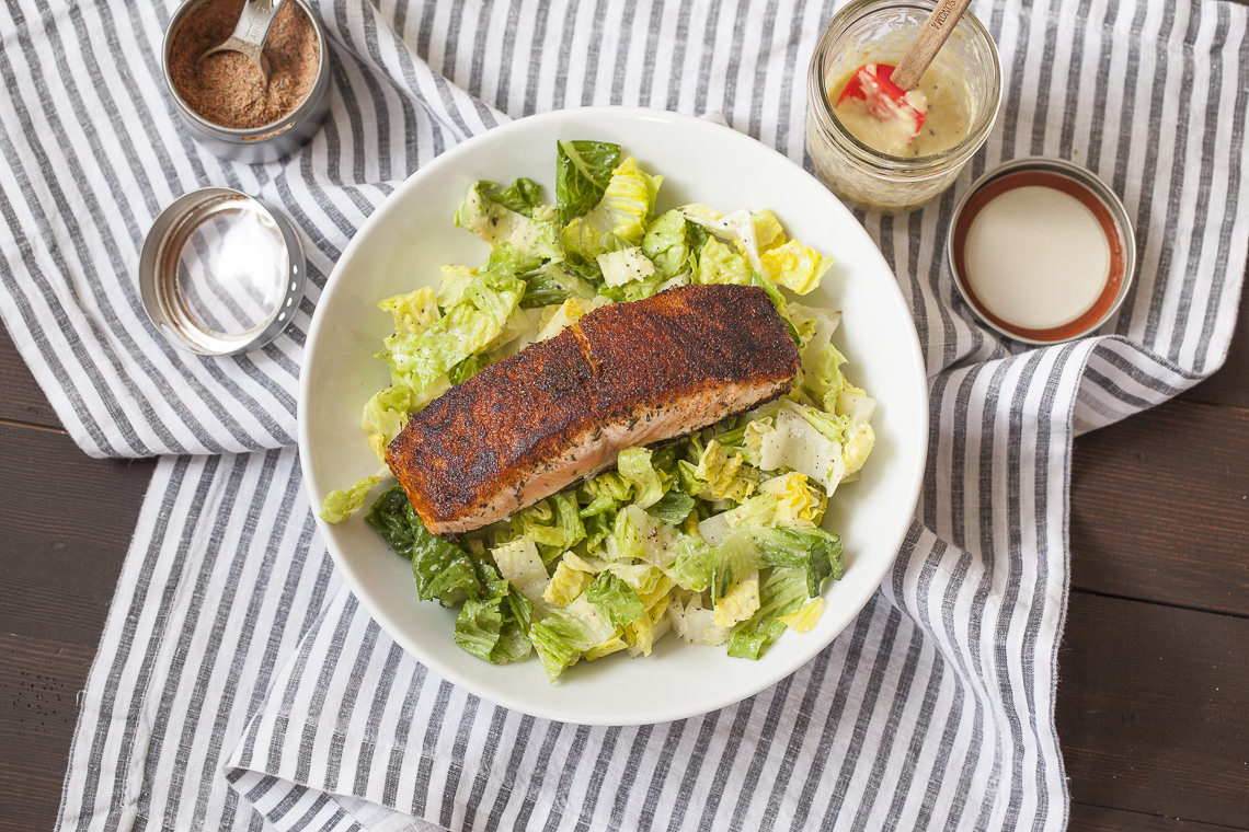 Quick Salmon & Couscous With Cilantro Vinaigrette Recipe — Dishmaps