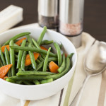Buttered Green Beans & Carrots | LaughterandLemonade.com