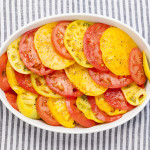 Heirloom Tomato Bake | LaughterandLemonade.com