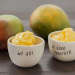 Kim's 2-Ingredient Mango Ice Cream | LaughterandLemonade.com