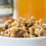 Quick Honey Candied Nuts | LaughterandLemonade.com