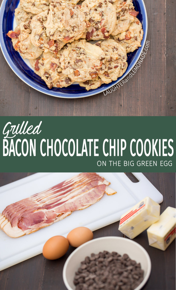Grilled Bacon Chocolate Chip Cookies | LaughterandLemonade.com