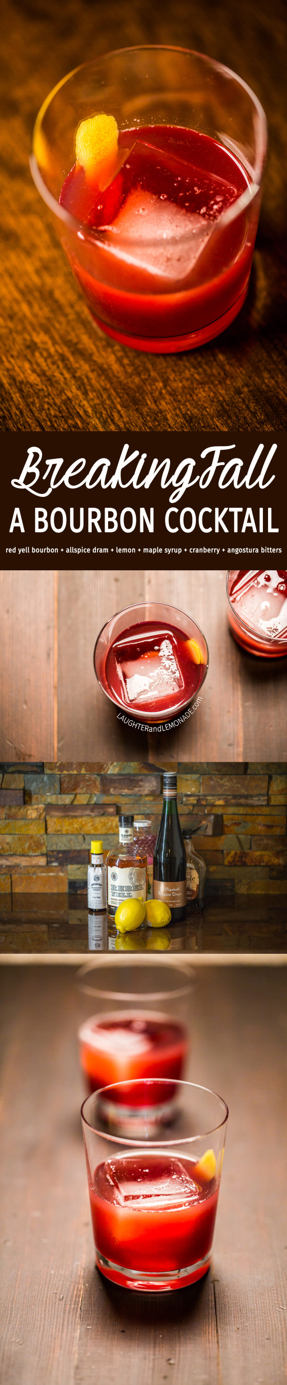 BreakingFall - Bourbon Cocktail | LaughterandLemonade.com