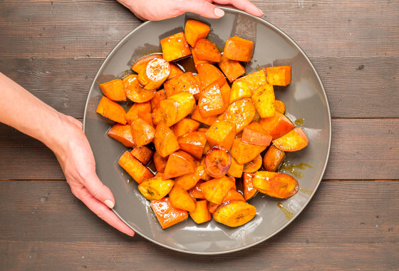Candied Yams and Plantains | LaughterandLemonade.com