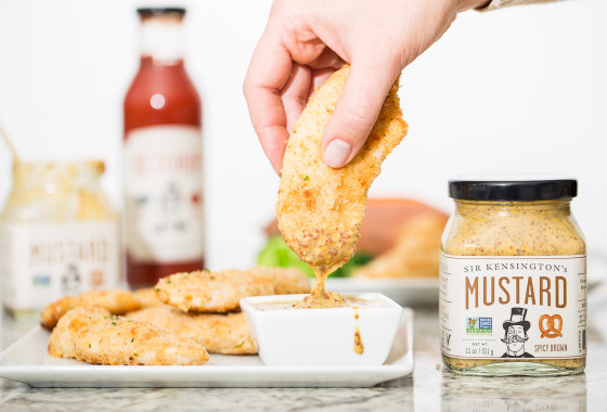 Parmesan Chicken Tenders | LaughterandLemonade.com