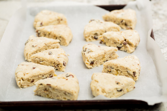 Candied Ginger Scones | LaughterandLemonade.com